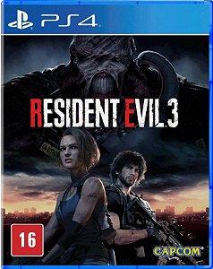 Resident Evil 3 PS4 Mídia Física
