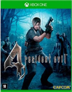 Resident Evil 4 Remastered Xbox One Mídia Física
