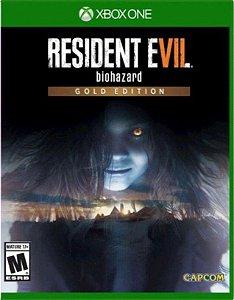 Resident Evil 7 Gold Edition Xbox One Mídia Física