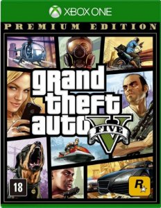 Grand Theft Auto V Premium Edition (GTA 5) Xbox One - Mídia Física