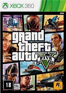 Grand Theft Auto V GTA 5 Xbox 360 Mídia Física