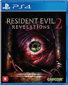Resident Evil Revelations 2 PS4 - Mídia Física