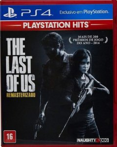 The Last of Us  Hits PS4 - Mídia Física