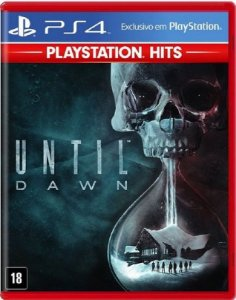 Until Dawn Hits PS4 - Mídia Física