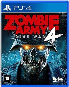 Zombie Army 4: Dead War PS4 - Mídia Física