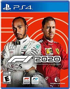 F1 2020 PS4 Mídia Física