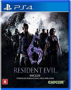 Resident Evil 6 PS4 Mídia Física