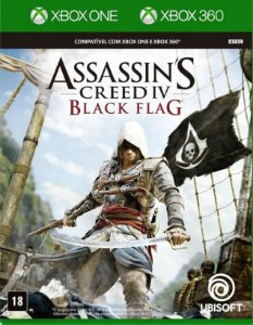 Assassin's Creed IV Black Flag  Xbox One - Mídia Física