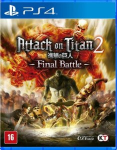 Attack on Titan 2 Final Battle PS4  Mídia Física