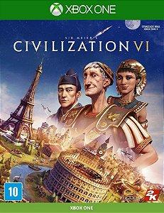 Civilization VI  Xbox One Mídia Física