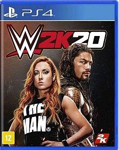WWE 2K20 PS4 Mídia Física