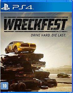 Wreckfest PS4 Mídia Física
