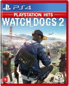 Watch Dogs 2 PS4 Mídia Física