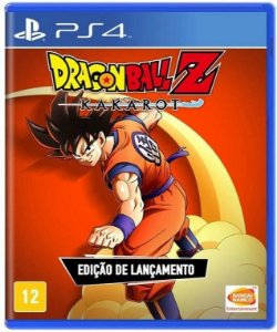 Dragon Ball Z Kakarot PS4 - Mídia física