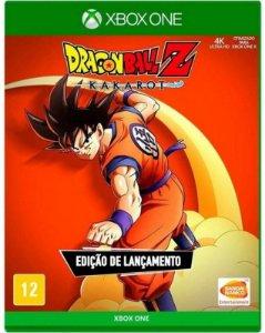 Dragon Ball Z Kakarot Xbox One - Mídia física