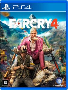 Far Cry 4 PS4 Mídia Física
