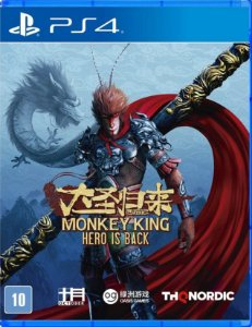 Monkey King Hero Is Back  PS4 Mídia Física