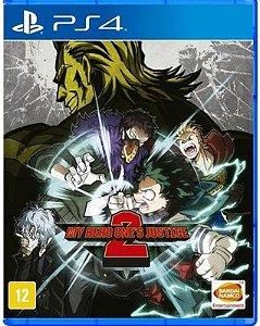 My Hero Ones Justice 2  PS4 Mídia Física
