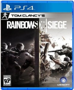 Tom Clancys Rainbow Six Siege PS4 Mídia Física