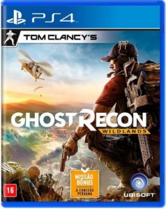 Tom Clancy's Ghost Recon Wildlands PS4 - Mídia Física