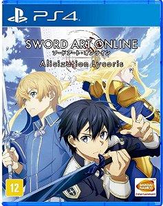 Sword Art Online Alicization Lycoris  PS4 Mídia Física