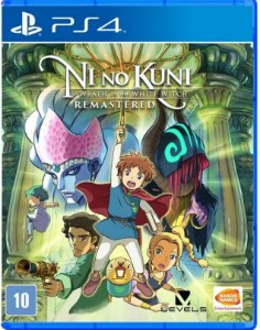 Ni No Kuni: Wrath of the White Witch Remastered PS4 - Mídia Física