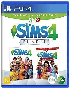 The Sims 4 Bundle Cães e Gatos PS4 Mídia Física