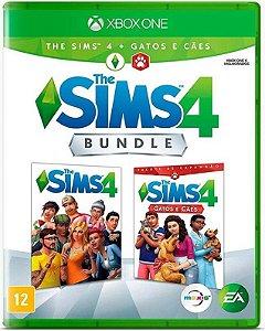 The Sims 4 Bundle: Cães e Gatos Xbox One - Mídia Física