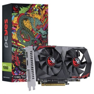 Placa de vídio Nvidia Geforce GTX 1050 TI 4GB GDDR5 128 Bits Dual-Fan - Graffit Series