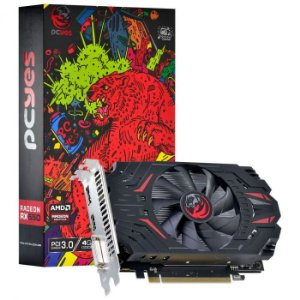 Placa de Vídeo AMD Radeon RX 550 4GB GDDR5 128 Bits Single Fan