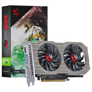 Placa de Vídeo Nvidia Geforce GTX 750 TI 2GB GDDR5 128 Bits Dual-Fan