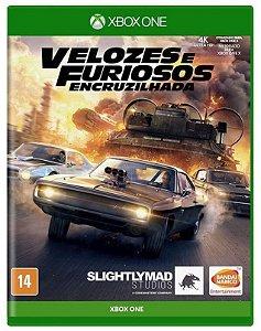 Velozes e Furiosos Encruzilhada Xbox One Mídia Física