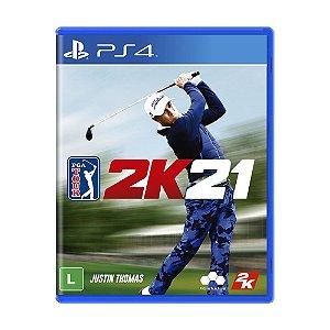 PGA Tour 2K21 PS4- Mídia Física