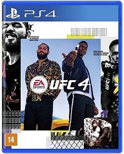UFC 4 PS4 Mídia Física