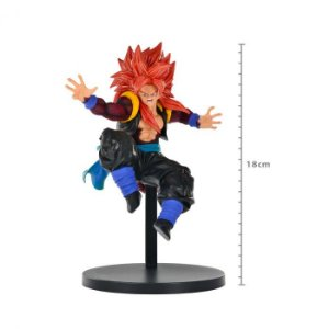 Figure Super Dragon Ball Heroes 9th Anniversary Super Saiyan 4 Gogeta Xeno