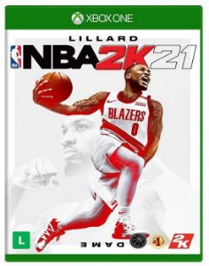 NBA 2K21 Xbox One - Mídia Física