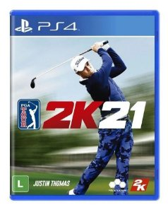 PGA Tour 2K21 PS4 - Mídia Física