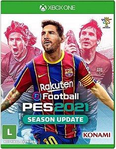 Pro Evolution Soccer (PES) 21 Xbox One - Mídia Física