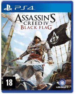 Assassin's Creed Black Flag PS4 Mídia Física