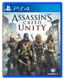 Assassin's Creed Unity PS4 Mídia Física