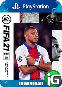 FIFA 21 Edição dos Campeões - PS4