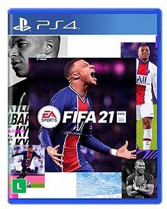Fifa 21 PS4 - Mídia Física