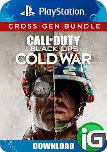 Call of Duty: Black Ops Cold War - Pacote Multi-geração PS4