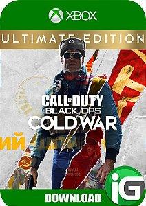 Call of Duty: Black Ops Cold War - Edição Definitiva Xbox One