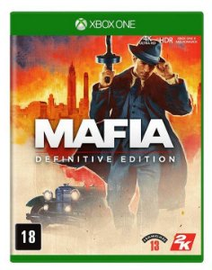 Mafia Definitive Edition Xbox One - Mídia Física