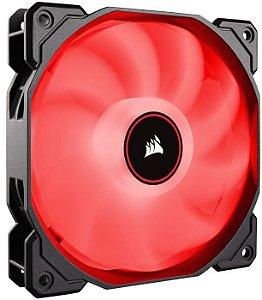 Fan para Gabinete AF120 Led Vermelho 120MM