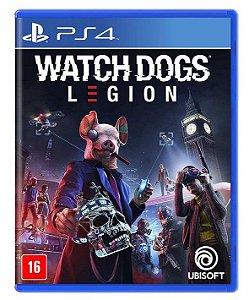 Watch Dogs Legion PS4 - Mídia Física
