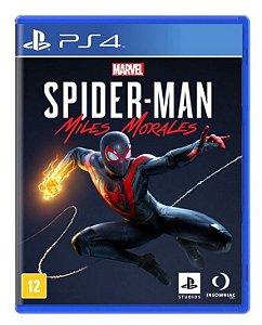 Marvel's Spider-Man: Miles Morales PS4 - Mídia Física