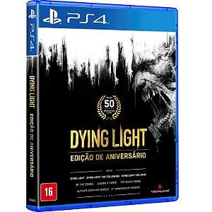 Dying Light: Edição de Aniversário PS4 - Mída Física
