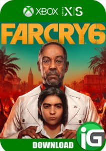 Far Cry 6 Xbox Series X/S - Mídia Digital